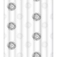 Штора для ванной комнаты LeMark Grey knots C1820P001