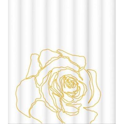 Штора для ванной комнаты LeMark Beige rose C1820T002