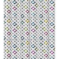 Штора для ванной комнаты LeMark Diamond shapes C2018T010