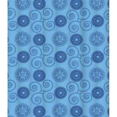Штора для ванной комнаты LeMark Infinite blue C2018T028