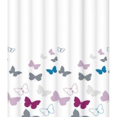 Штора для ванной комнаты LeMark Butterfly champagne C2018T043