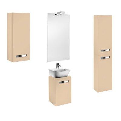 Комплект мебели для ванной Roca Gap 45 бежевый-3