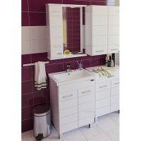 Комплект мебели для ванной Санта Омега 60