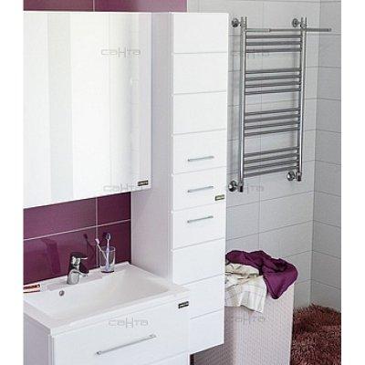 Шкаф-Пенал для ванной комнаты Санта Омега 30 подвесной