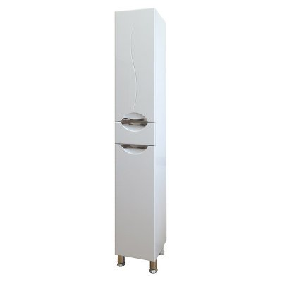 Шкаф-Пенал для ванной комнаты СанТа Полис 30
