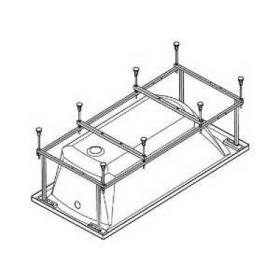 Монтажный комплект для ванны Монако XL 170х75 см