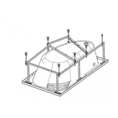 Монтажный комплект для ванны Гоа 150х100 L/R