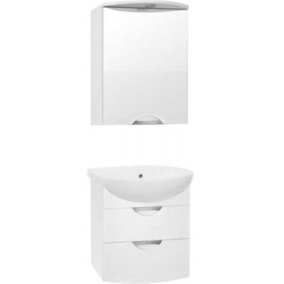 Комплект мебели для ванной  Style Line Жасмин-2 55 ЛЮКС PLUS  подвесной белый