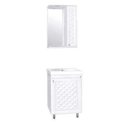 Комплект мебели для ванной  Style Line Канна-50 ЛЮКС
