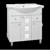 Тумба c раковиной для ванной  Style Line Крокус -75