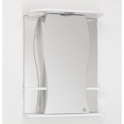 Зеркало-шкаф Style Line Эко Волна Лорена 55/С белый