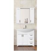 Комплект мебели для ванной  Style Line Олеандр 2-90