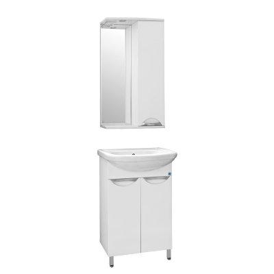 Комплект мебели для ванной  Style Line Жасмин 55 (раковина антик 55)