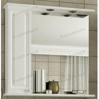Зеркало-шкаф Francesca Империя 75