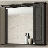 Шкаф-зеркало Francesca Империя 85 венге