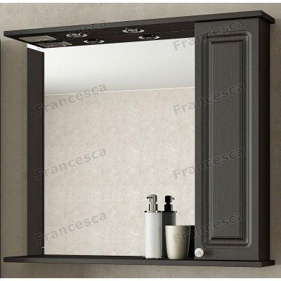 Зеркало-шкаф Francesca Империя 80 венге